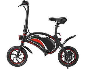 El-scooter i Vilhelmina