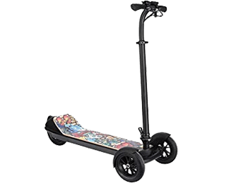 El-scooter i Morgongåva