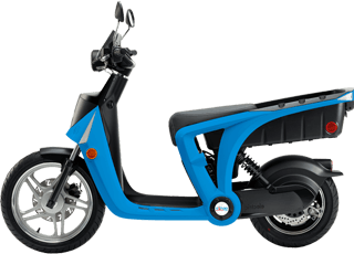 El-scooter i Påarp